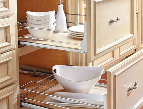 Cabinet Rollouts For Kitchen Storage